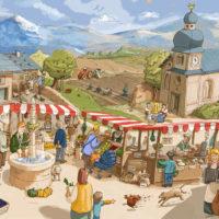 Wimmelbild »Markt«