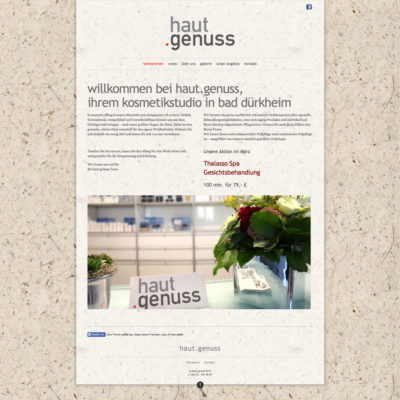 Hautgenuss Website
