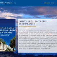 Christine Cazon - Autorenwebsite