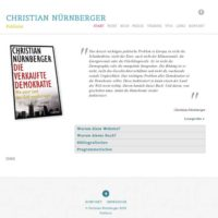 Christian Nürnberger - Autorenwebsite